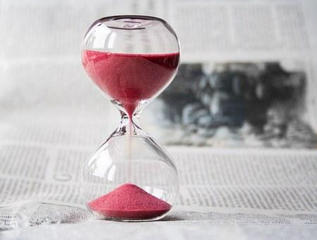 赤い砂時計