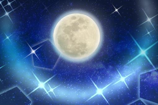 キレイな月