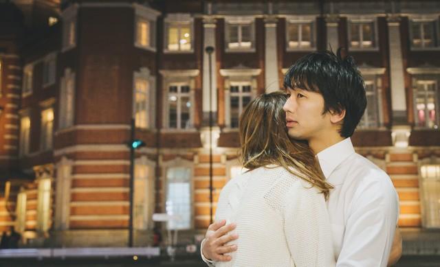 遠距離恋愛のカップル
